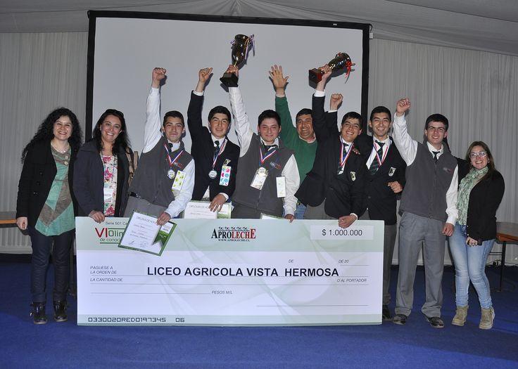 Ganadores Olimpiadas Aproleche, Liceo Agrícola Vista Hermosa