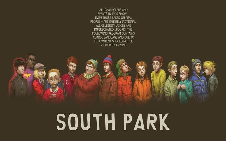 Картинки по запросу южный парк персонажи