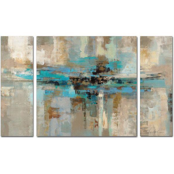 silvia vassileva fjordu0027 3 piece multi panel art set 90