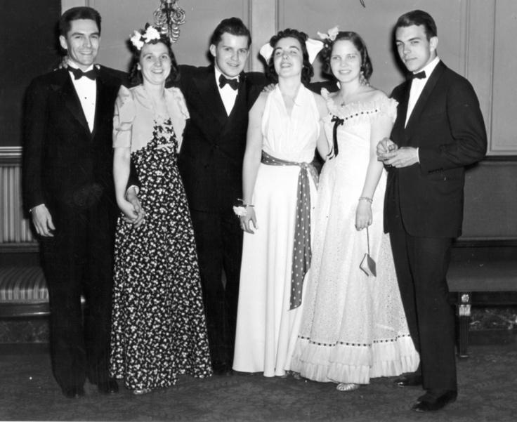 Students Before Formal 1940 S Bridesmaid Dresses Bridesmaid Wedding Dresses