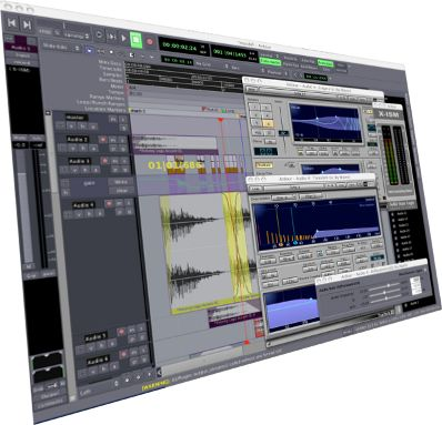 Ardour, the Free and Open Source alternative to Pro Tools.