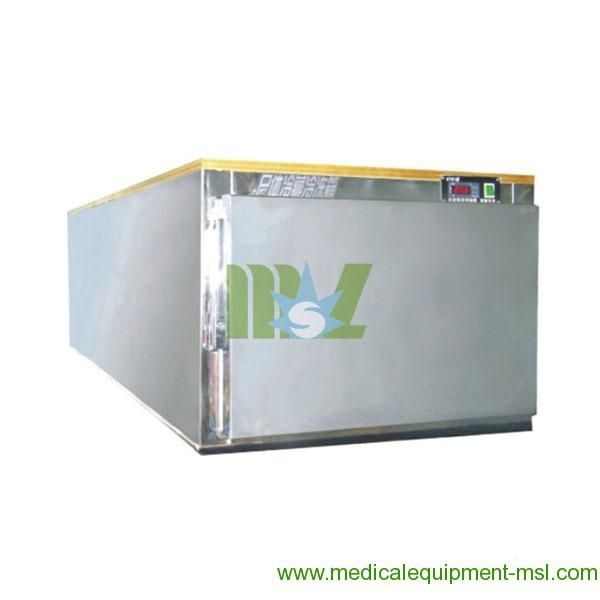 MSL Cheapest Stainless Steel Mortuary Equipment-Stainless steel morgue refrigerator for sale - MSLMR01