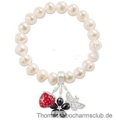 http://www.thomassabocharmsclub.de/top-thomas-sabo-blume-erdbeere-schmetterling-weiss-perle-armbander-store.html#  Thomas Sabo Blume Erdbeere Schmetterling Weiß Perle Armbänder