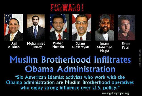 Muslim Brotherhood Infiltration: THE FIVE DAMNING LETTERS Ignored By The Obama Administration And Hillary Clinton