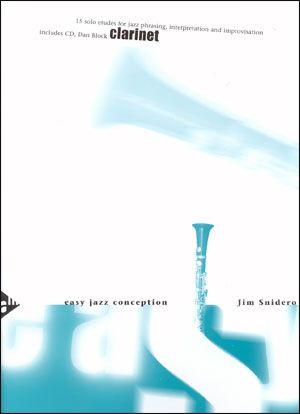 Jamey Aebersold Jazz: Easy Jazz Conception for Clarinet