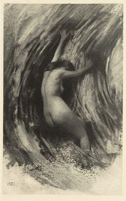 Robert Demachy - Struggle, Photogravure, 1904