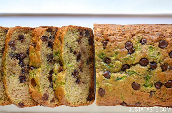 Chocolate Chip Zucchini Bread ~ made this today with my first zucchini crop.  This is going to be my go-to recipe for sure.  Really, really good!