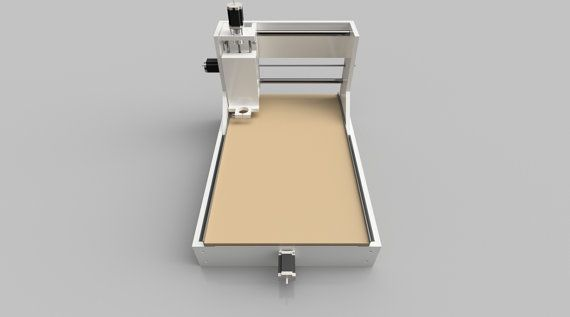 Build your own three-axis CNC router with these easy to follow plans.  If you can cut parts to size and drill accurate holes, you can build this machine. All you need is a table saw or circular saw, miter saw and drill press, plus a set of hex keys. You can customize a few of the parts to make a bigger or smaller router. Build it as designed and youll be able to work with pieces up to 3 thick, 16-5/8 wide and 30 long.  This CNC router can be built with MDF, plywood or UHMW plastic (shown)…