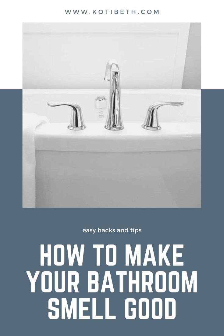 How To Make Your Bathroom Smell Good In 2020 Bathroom Smells Smell Good Diy Cleaning Solution