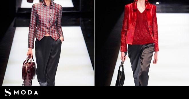 Falda-pantalón y sombrero, el uniforme de las chicas Armani | S Moda EL PAÍS