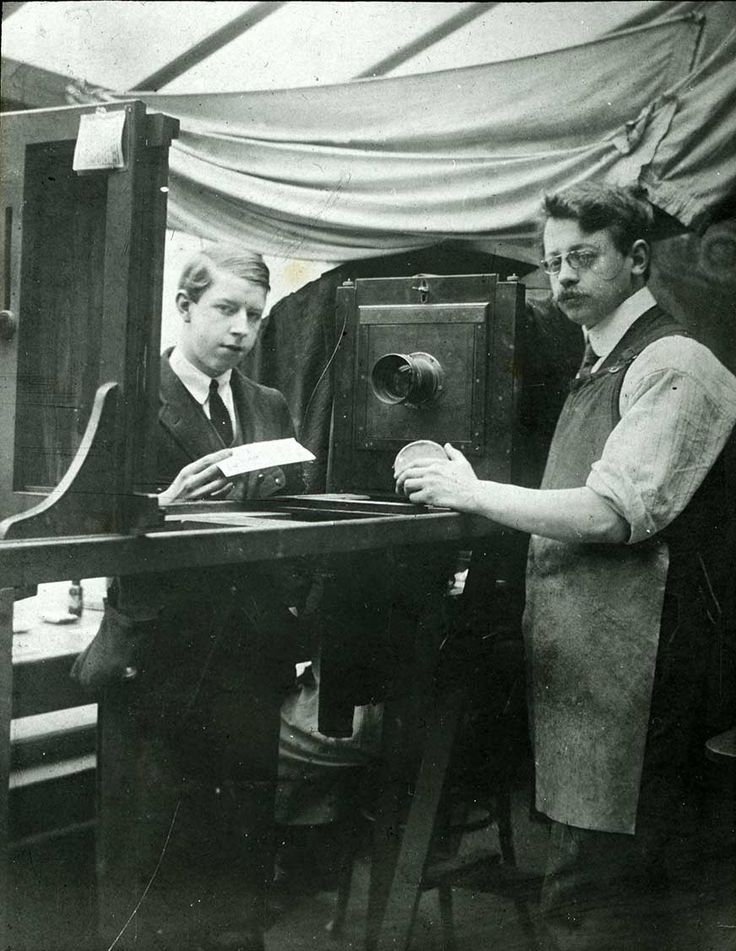 Mr Wainwright seen here in the copying room spent his entire career at A.H Leach & Co.