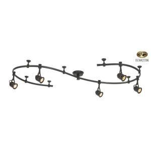 5-Light Antique Bronze Retro Pinhole Flexible Track Lighting Kit  sc 1 st  Pinterest & Best 25+ Flexible track lighting ideas on Pinterest | Pendant ... azcodes.com