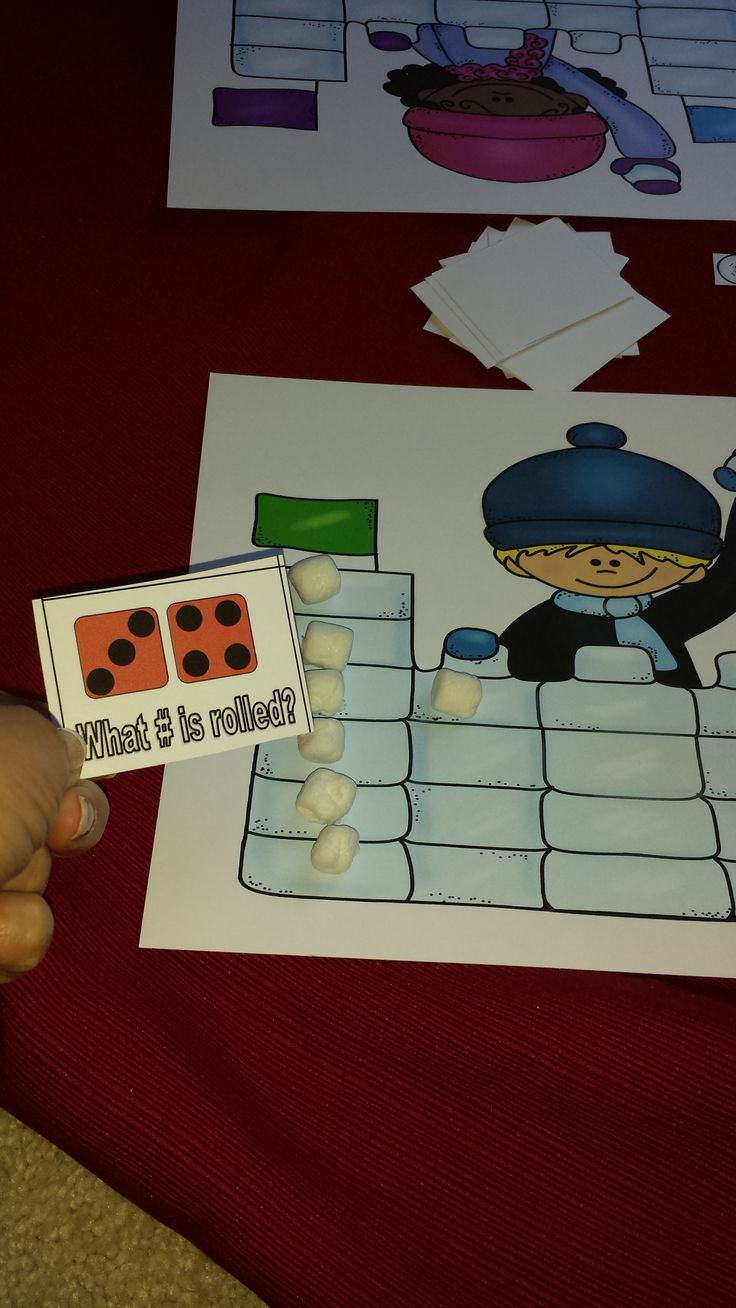 "Math Skills Game, ""Snowball Fight"" (from Teaching Heart Blog)"