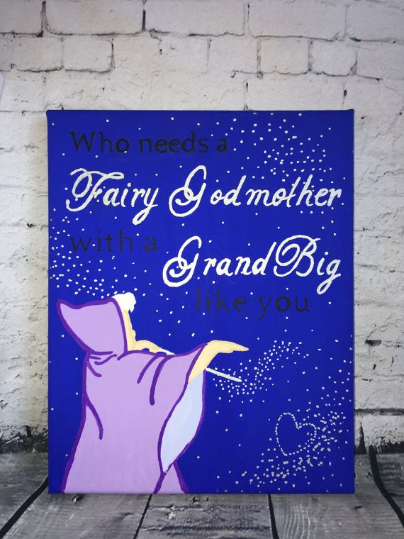 Grandbig Fairy Godmother Sorority Big Little by SamsSororityStash                                                                                                                                                                                 More