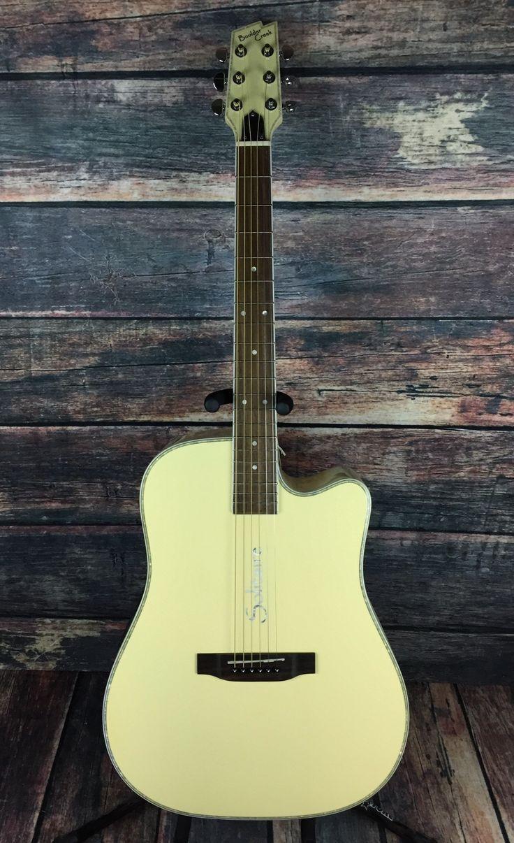 Boulder Creek Right Handed ECR4-BC Acoustic Electric Guitar