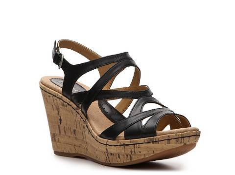 Have this sandal as well and I LOVE it. So comfortable. I just discovered this brand of shoe this spring. One of my new favorites.