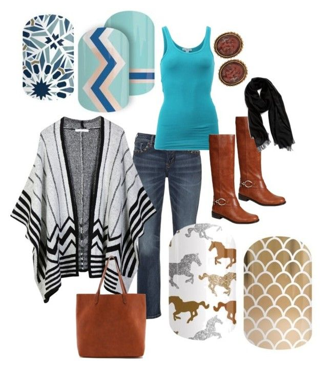"""Untitled #19"" by emilyrulez on Polyvore featuring Silver Jeans Co., LE3NO, James Perse, Reneeze, Madewell, Nordstrom and Stephen Dweck"