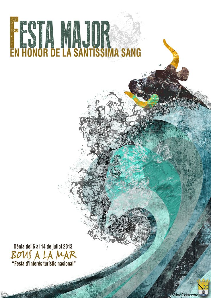 Propuesta cartel fiestas de Denia 2013. 1