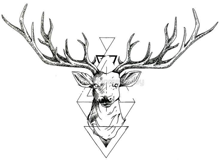 Geometric Deer by DarkHorseBailey                                                                                                                                                                                 More                                                                                                                                                                                 Más