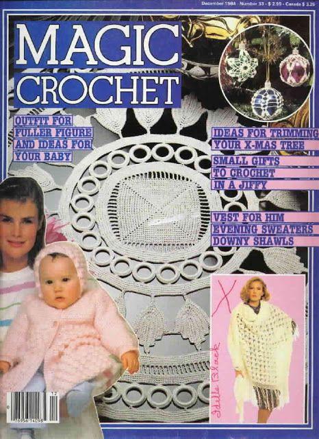 Magic Crochet Nº 33 - December 1984