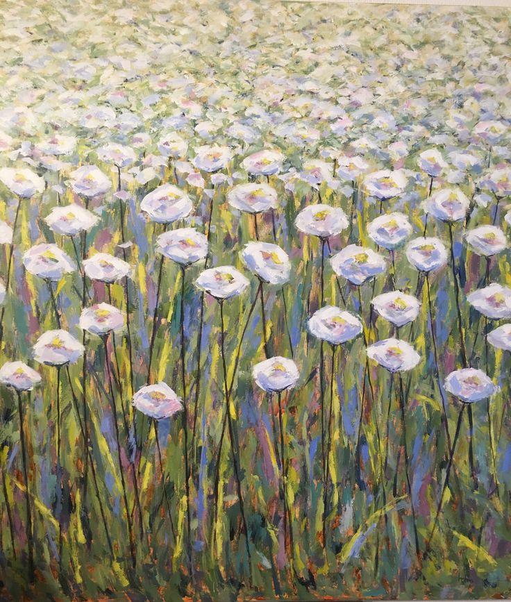 Blomstermark af Tove Holm Petersen
