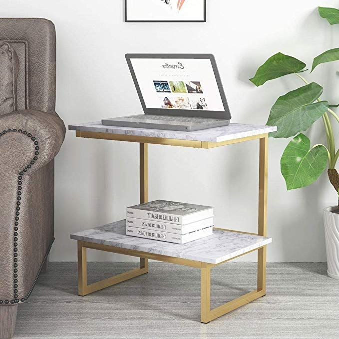 Amazon Com End Tables Tribesigns Sofa Side Tables Night Stand