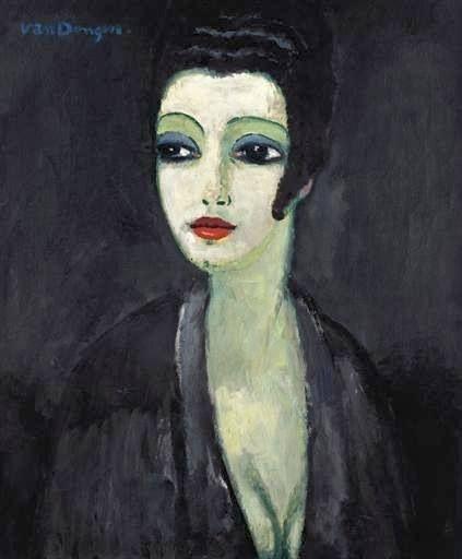 Tamara, la muse du Peintre, by Kees van Dongen