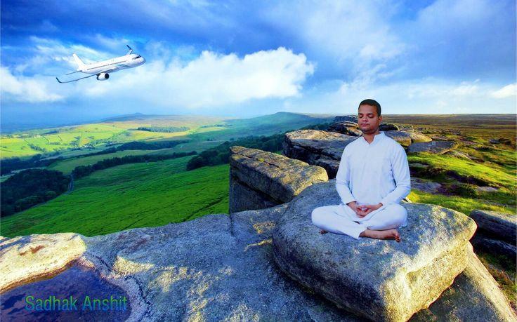 #meditation #meditationtime #spiritual #enlightenment #sadhakanshit #naturephotography #mystery #lights  #saint #photoshoot #photo #color #colors #blueskys #seattle #sea #wildanimals #sky #trees #earth #cloud #enlightenment #