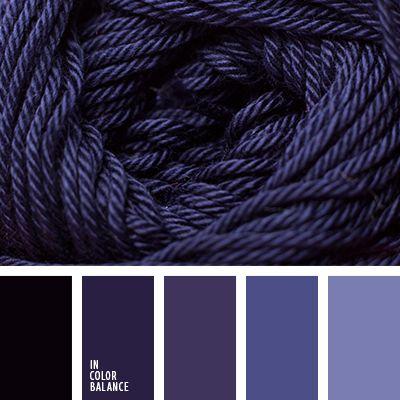 color azul muy oscuro, color púrpura, matices del azul oscuro, matices invernales, morado, paleta de invierno, tonos púrpura, tonos violetas, violeta azulado.