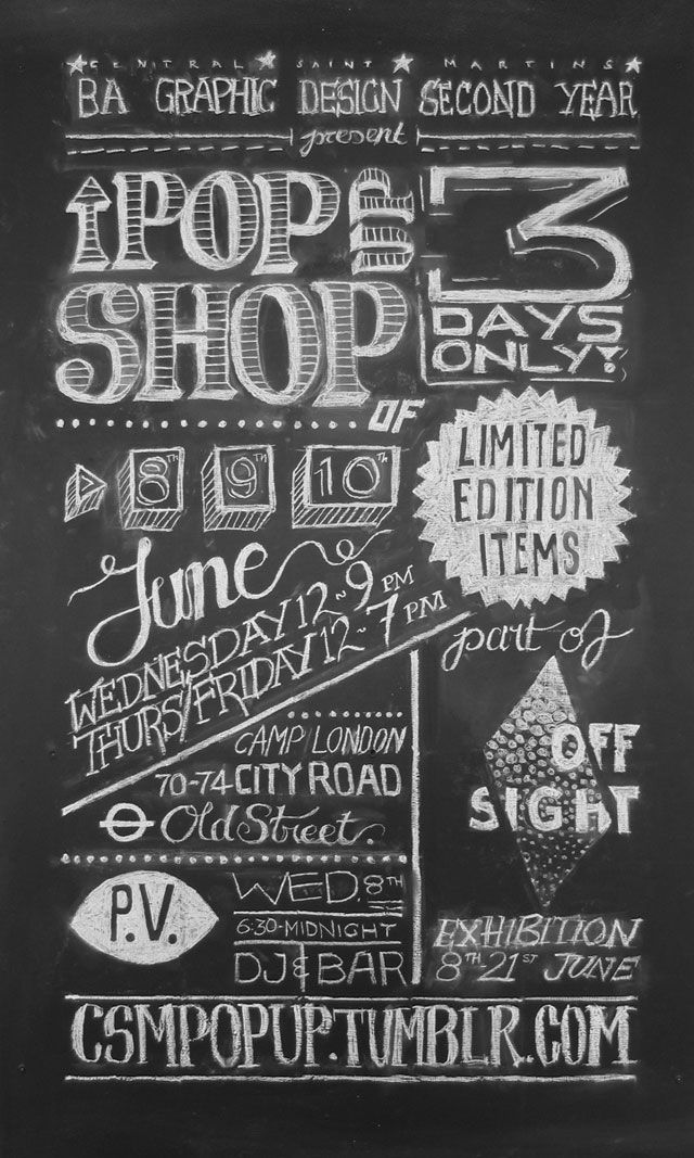 17 Best Images About Chalkboard Obsession On Pinterest: chalkboard typography