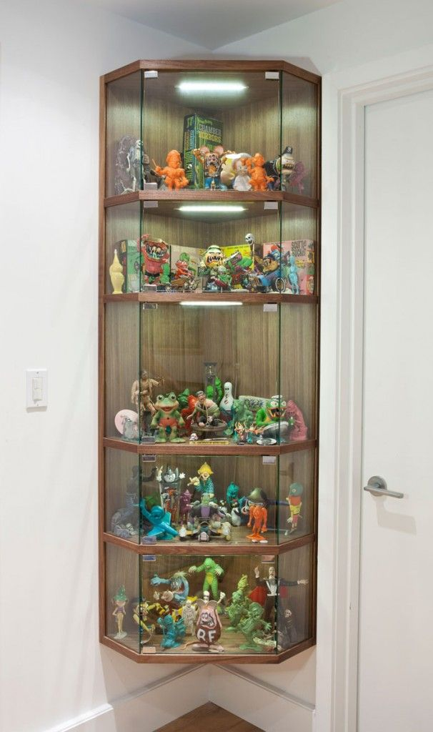 Inspirational Wall Display Cabinets for Collectibles