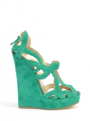 Lovely shoes: Green Emeralds, Iona Wedges, Sophie Gittin, Mint Green, Color, Emeralds Green, Green Wedges, Gittin Iona, Teal Wedges