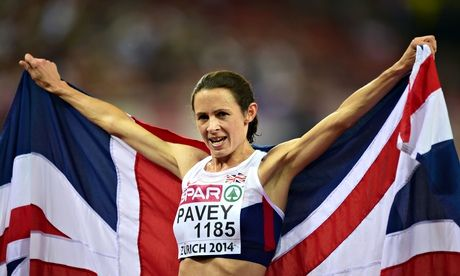 Jo Pavey: 'Perhaps people relate to me more because I'm 40 and a mum'