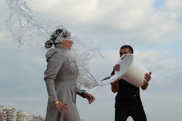 Eleftheria Kalpenidou Photography:  Biennale 3 Thessaloniki- Festival performance:   Nezaket Ekici,   On the way-Safety and Luck
