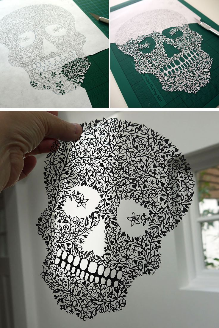 You Will Not Believe These Works Of Art Came From A Single Piece Of Paper