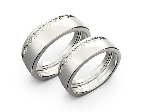 Matching White Gold Wedding Rings Wedding Rings Sets Gold Wedding Ring Sets Vintage Antique Wedding Rings
