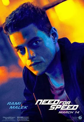 Rami Malek- loved him in need for speed. I laughed so damn hard!