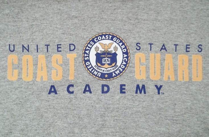 United States Coast Guard Academy T-Shirt Adult S Small