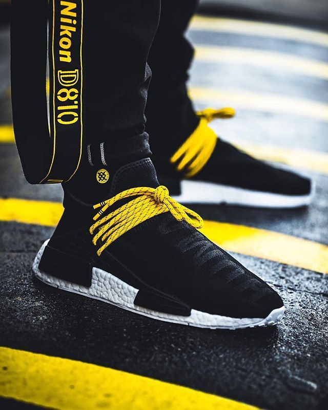 Pharrell x Adidas NMD Human Race - Black - 2016 (by don_shoela) - mens  white dress shoes, nice casual mens shoes, mens leather shoes