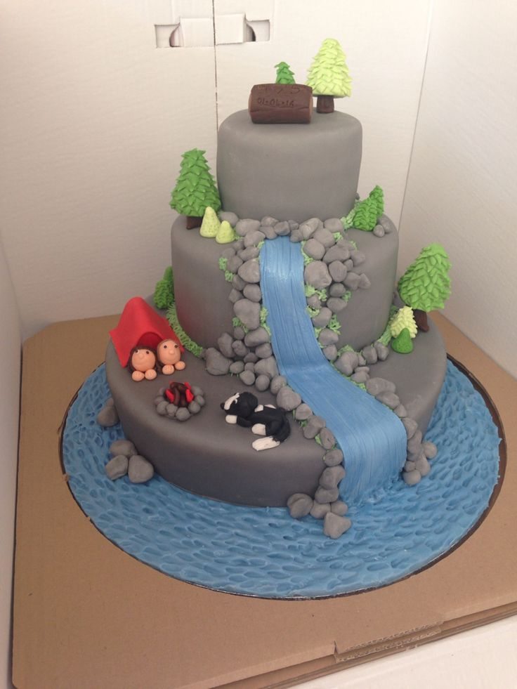 camp wedding decorations 32 best waterfall wedding cakes images on pinterest waterfall