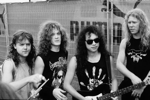 Metallica..the early days. Got into Metallica back in '88. And still a die hard fan.