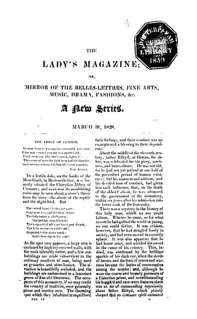 The Ladies Magazine Vol.31(march)1828