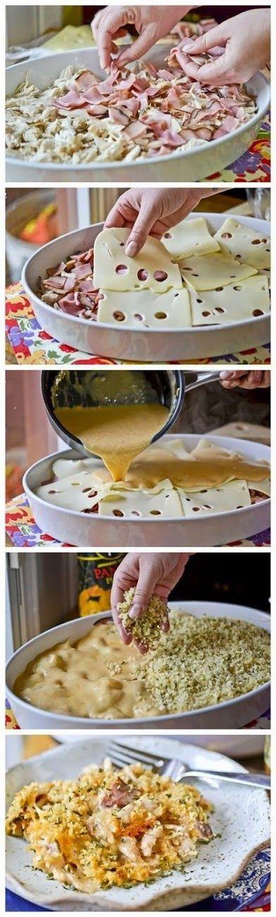 How To Chicken Cordon Bleu Casserole