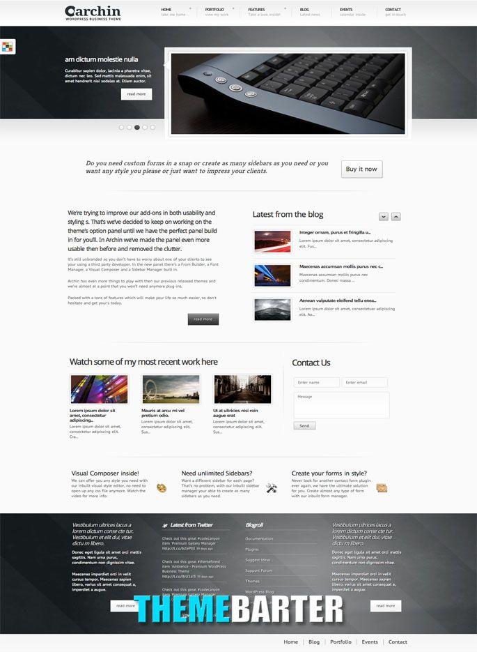 23 mejores imágenes de WordPress Themes en Pinterest | Productos ...