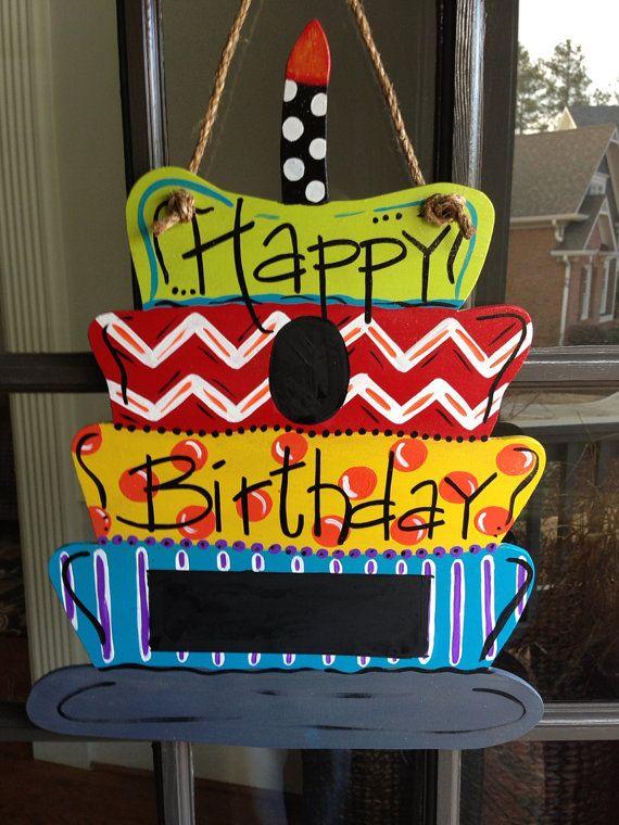 Best 25 Birthday Door Decorations Ideas Only On Pinterest