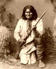 """""""I cannot think that we are useless or God would not have created us. There is one God looking down on us all. We are all the children of one God. The sun, the darkness, the winds are all listening to what we have to say.""""  -Geronimo (Chiricahua Apache)"""