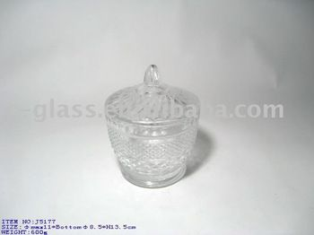 hand press clear glass candy jar, View glass candy jar, OEM Product Details from Shaanxi Langhao Enterprise Co., Ltd. on Alibaba.com