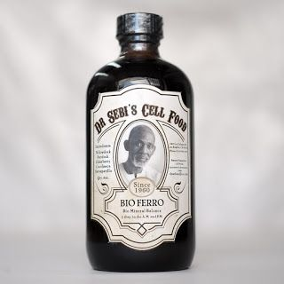 Review of Dr. Sebi's Bio Ferro and ingredients.