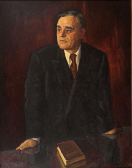 Tovarășul Gh. Gheorghiu-Dej. Expoziția Anuală de Stat 1952