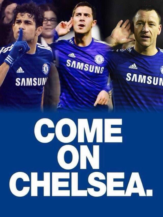Right come on my blue boys lets shut these fuckers up once and for all